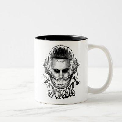 Suicide Squad | Joker Smile Two-Tone Coffee Mug