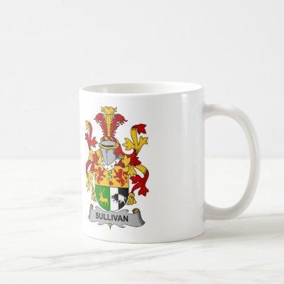 Sullivan Family Crest Coffee Mug
