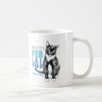 Super Cat Coffee Mug