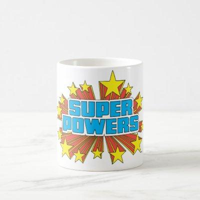 Super Powers™  Logo Blue Coffee Mug