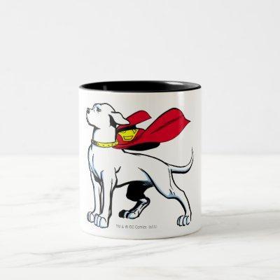 Superdog Krypto Two-Tone Coffee Mug