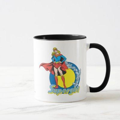 Supergirl with Logo Mug
