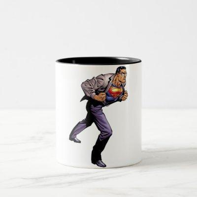 Superman 46 Two-Tone coffee mug