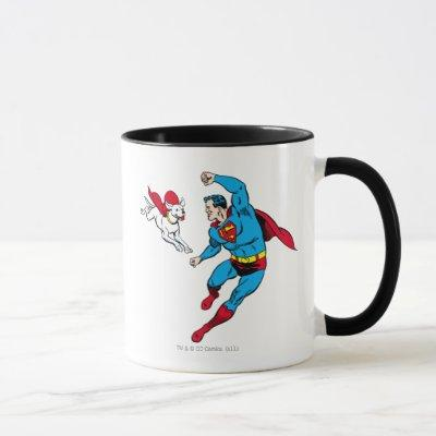 Superman and Krypto 2 Mug
