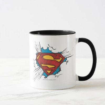 Superman S-Shield | Within Clouds Logo Mug