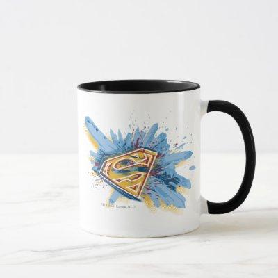 Superman Stylized | Splash Logo Mug