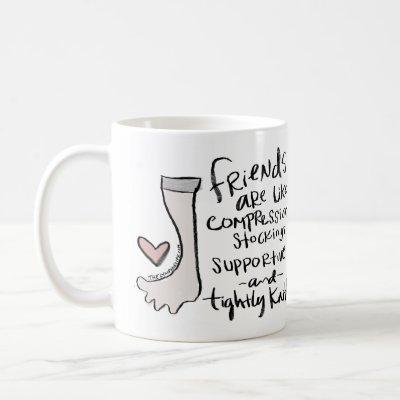 """Supportive and Tightly Knit"" Mug"