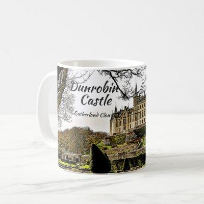 Sutherland Clan Heritage Dunrobin Castle Photo Coffee Mug