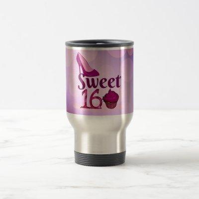 Sweet 16 travel mug