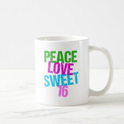 Sweet Sixteen Cute Coffee Mug
