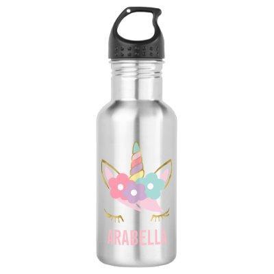 Sweet Unicorn Stainless Steel Water Bottle