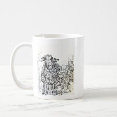 Sweetheart Sheep Coffee Mug