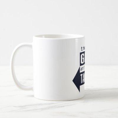 Sysadmin Giveth and Taketh Away Coffee Mug