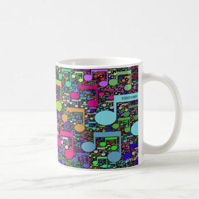 take a note coffee mug