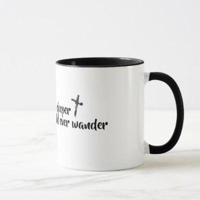 take me deeper than my feet could ever wander mug