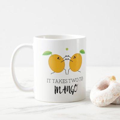 Takes Two to Mango Tango Ballroom Dancing Couple Coffee Mug