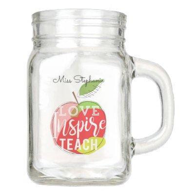 Teachers Mason Jar Mug