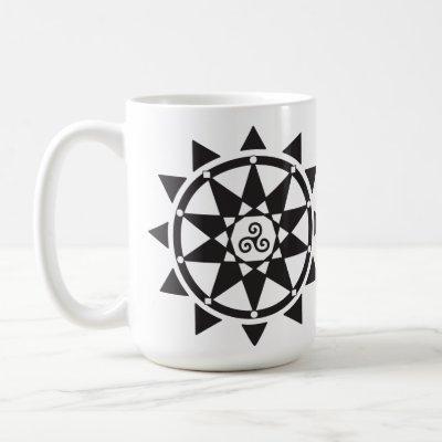 Temple of Witchcraft logo mug