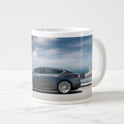 Tesla Model S Coffee Mug