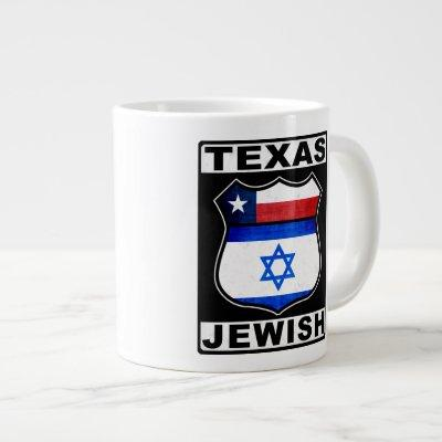 Texas Jewish American Giant Coffee Mug