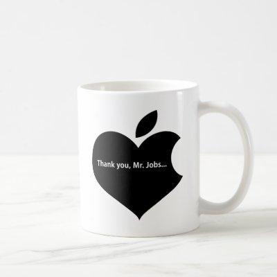 THANK YOU MR JOBS COFFEE MUG