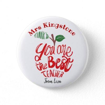 Thank you teacher mug you are the best! button