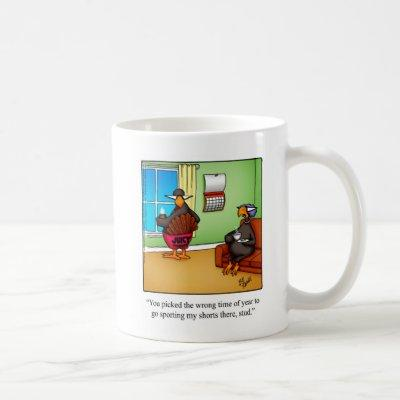 "Thanksgiving Humor Coffee Mug ""Spectickles"""
