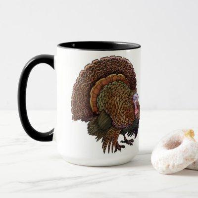 Thanksgiving Turkey Coffee Cup (Mug)
