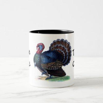 Thanksgiving Turkey Coffee Cup Mug