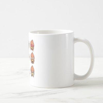 Thanksgiving Turkey Emojis  Funny I Love Fow Coffee Mug