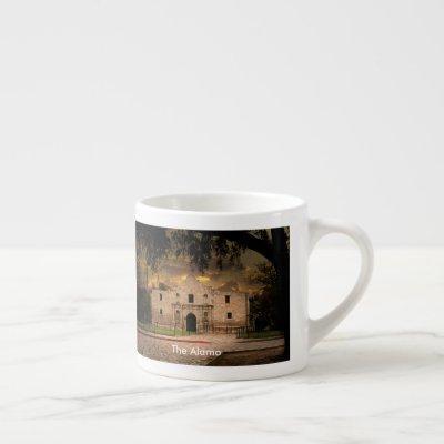 The Alamo Espresso Cup