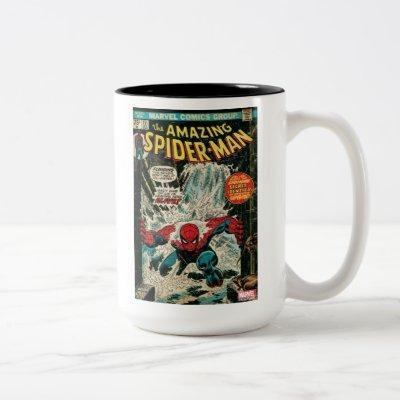The Amazing Spider-Man Comic #151 Two-Tone Coffee Mug