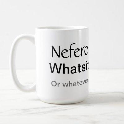 The Atlantis Grail - Nefero Whatsit Humorous Mug