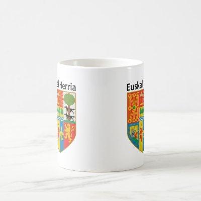 The Basque Country (Euskal Herria) coat of arms, Coffee Mug