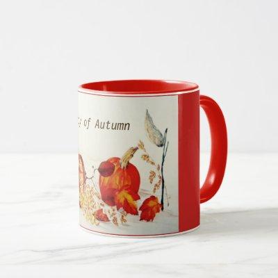 The Beauty of Autumn Mug