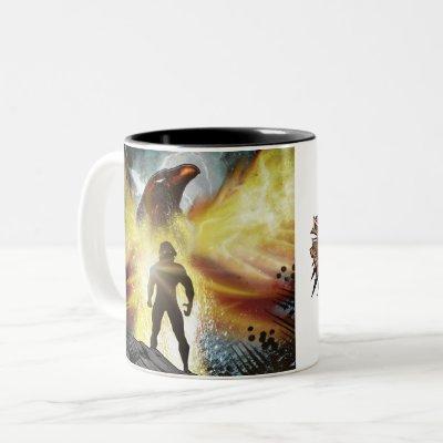 The Bobcat V2 design coffee mug