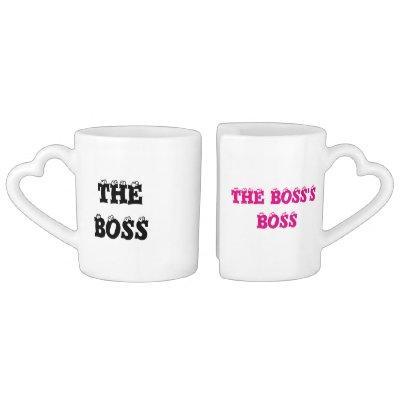 The Boss & the Boss's Boss - Coffee Mug Set