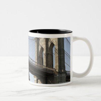 The Brooklyn Bridge Two-Tone Coffee Mug
