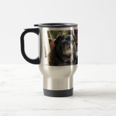 "The Bumblesnot ""Most Interesting Dog"" commuter mug"