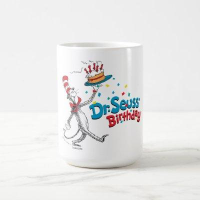 The Cat in the Hat | Dr. Seuss's Birthday Coffee Mug