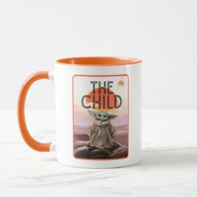 The Child Desert Background Mug
