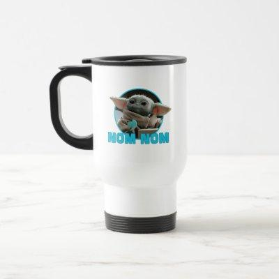 The Child Eating Cookie - Nom Nom Travel Mug