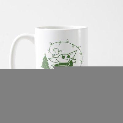 The Child | Merry Force be with You - Green Coffee Mug