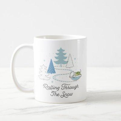 The Child | Rolling Through the Snow Coffee Mug
