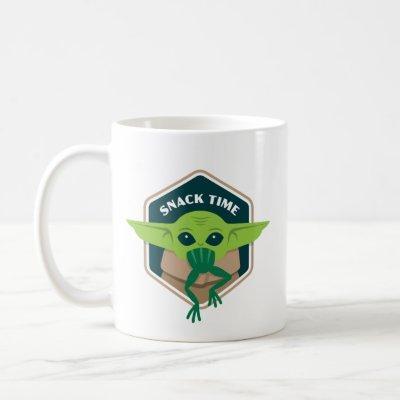 The Child Snack Time Hexagonal Border Coffee Mug