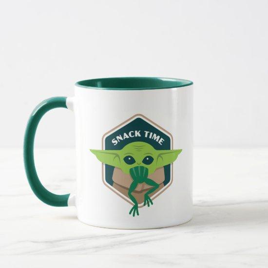 The Child Snack Time Hexagonal Border Mug