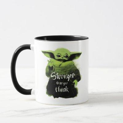 The Child | Stronger Than You Think Watercolor Mug