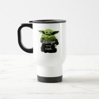The Child | Stronger Than You Think Watercolor Travel Mug