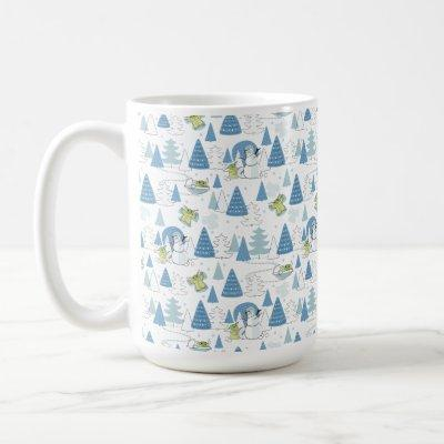 The Child | Tis the Season Pattern Coffee Mug