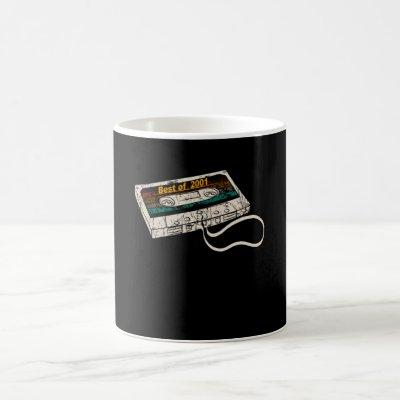 The Classic Cassette Best Of 2001 Coffee Mug
